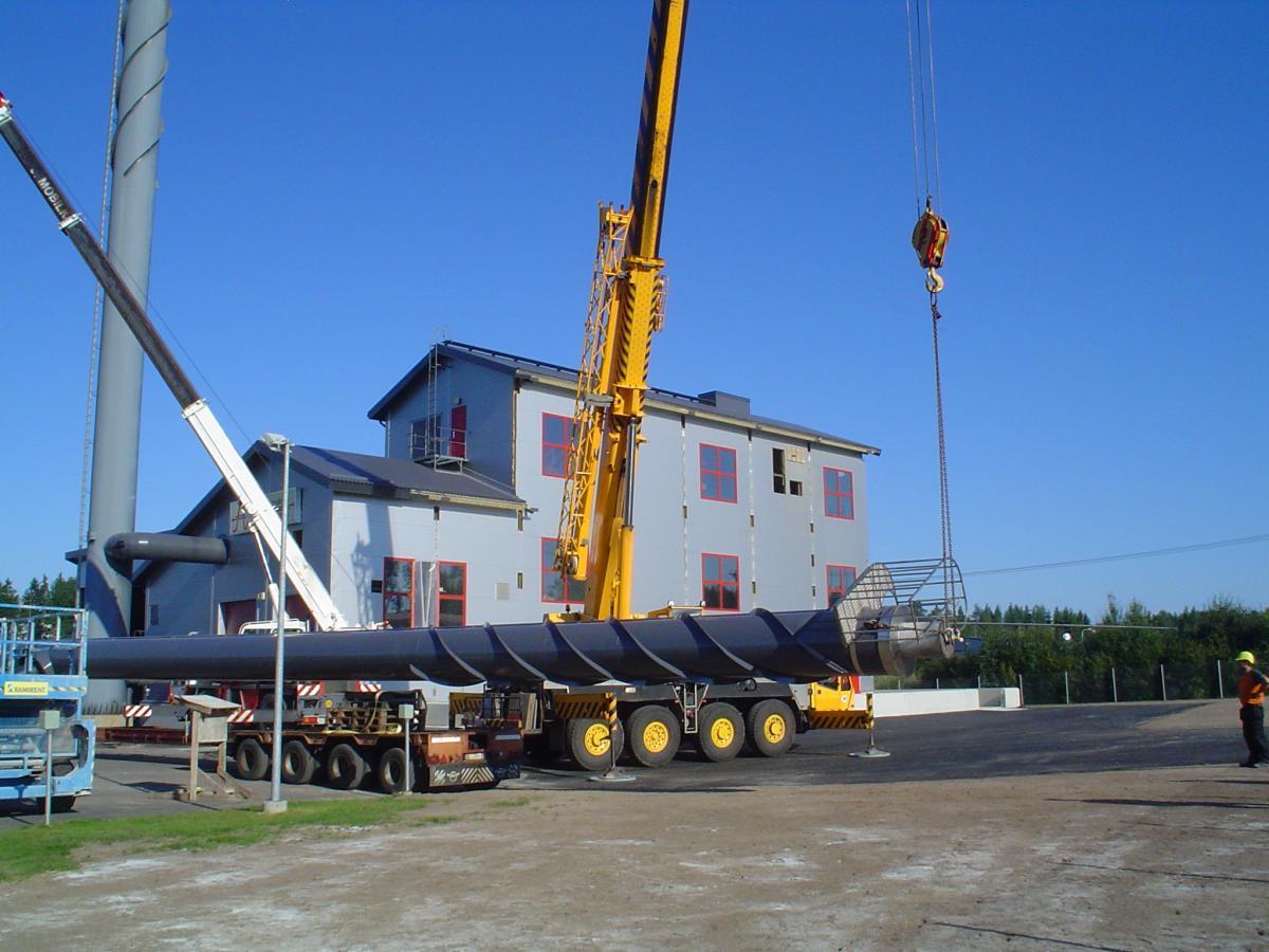 Tillbyggnad av fjärrvärmecentralen 2012